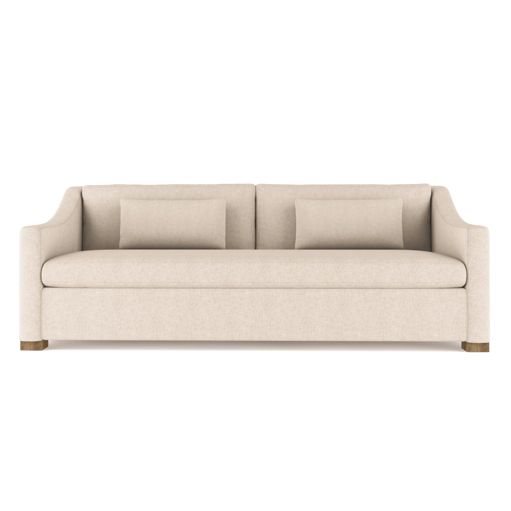 Crosby Sofa - Oyster Plush Velvet