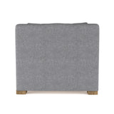 Crosby Chair - Pumice Plush Velvet
