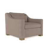 Crosby Chair - Pumice Box Weave Linen