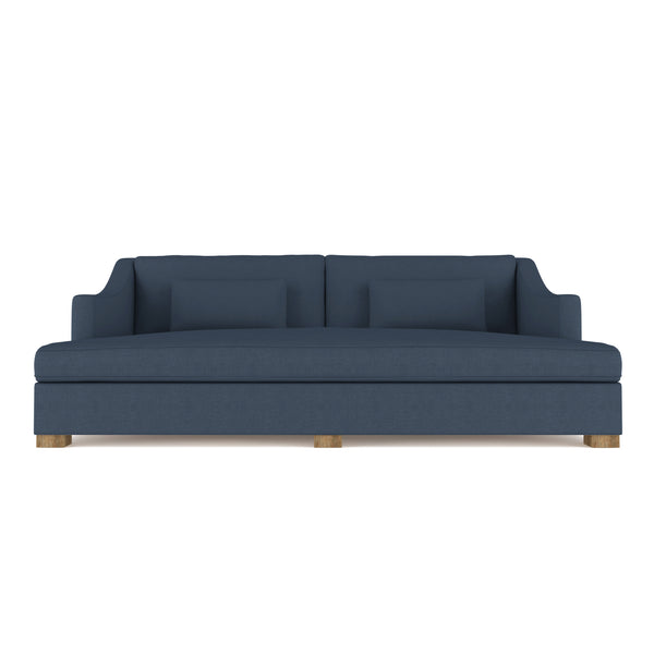 Crosby Daybed - Bluebell Box Weave Linen