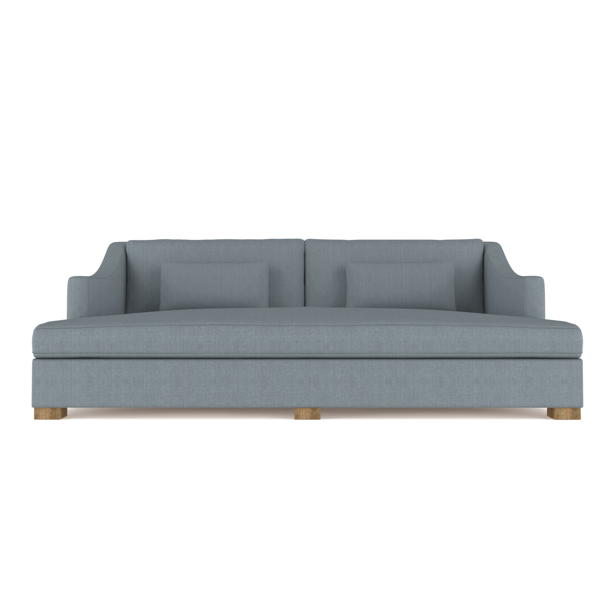 Crosby Daybed - Haze Box Weave Linen