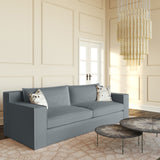 Mulberry Sofa - Haze Box Weave Linen