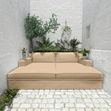 Mulberry Daybed - Oyster Box Weave Linen