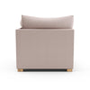 Evans Corner Chair - Blush Plush Velvet