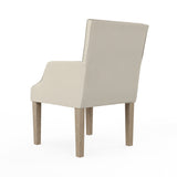 Juliet Dining Chair - Oyster Box Weave Linen