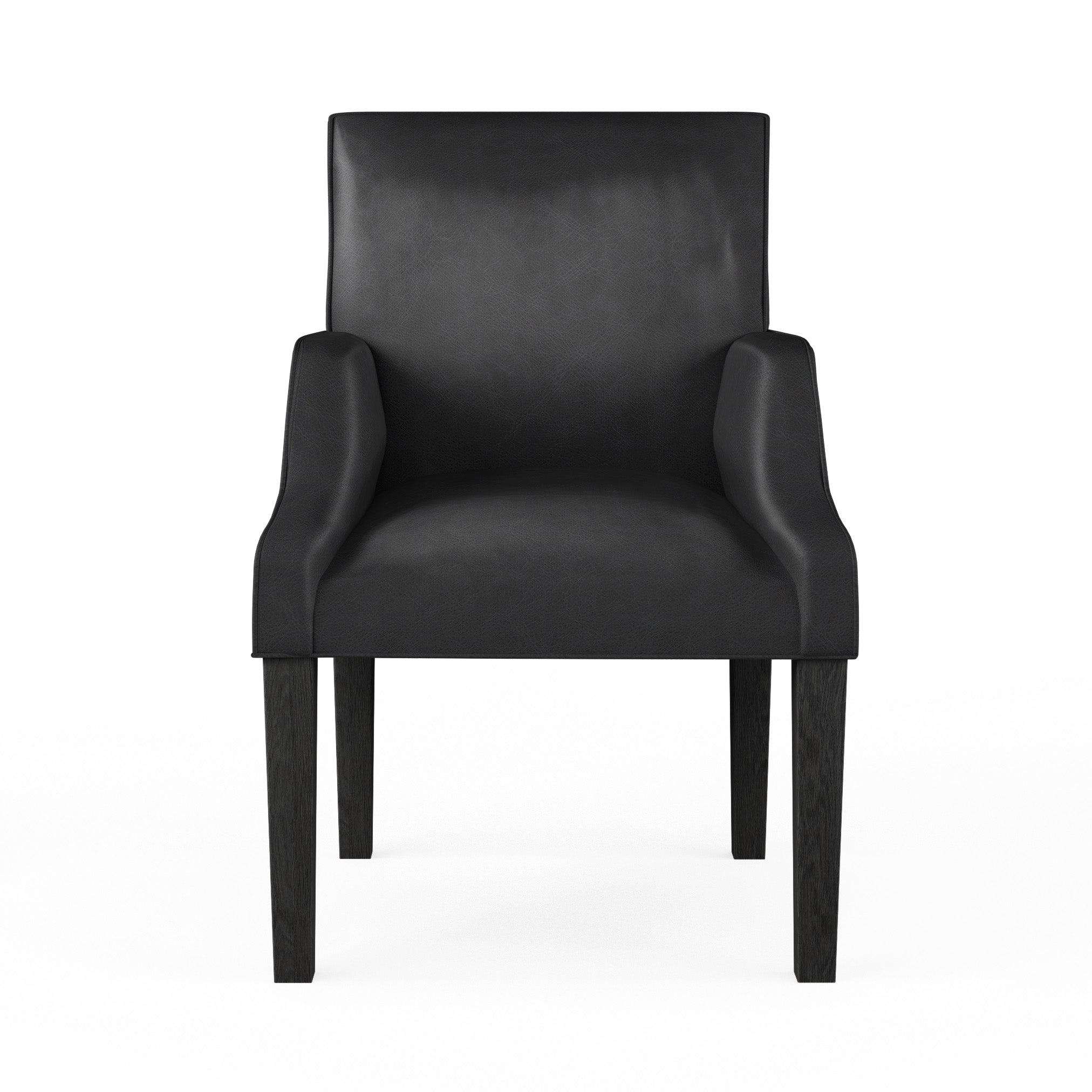 Juliet Dining Chair - Black Jack Vintage Leather