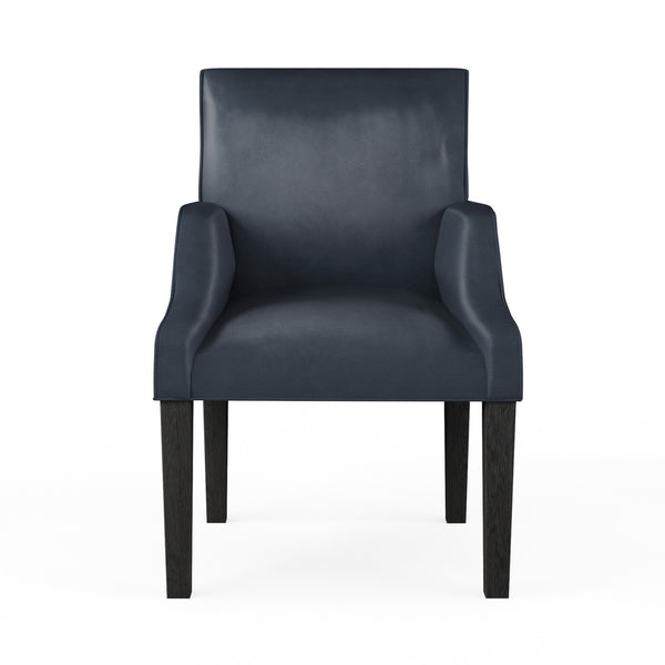 Juliet Dining Chair - Blue Print Vintage Leather