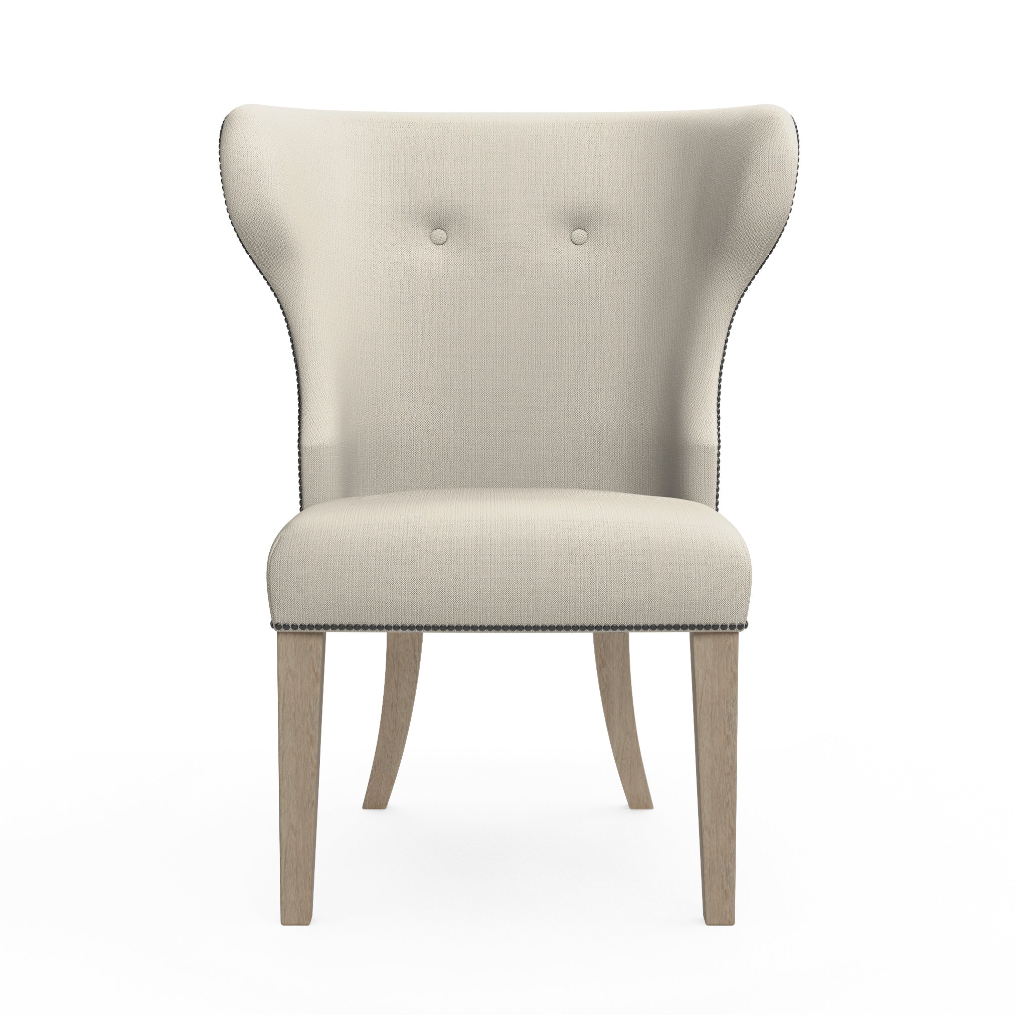 Nina Dining Chair - Oyster Box Weave Linen