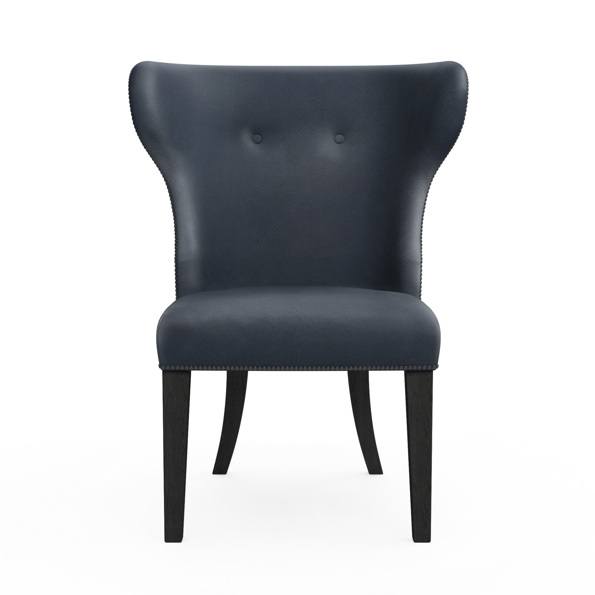 Nina Dining Chair - Blue Print Vintage Leather
