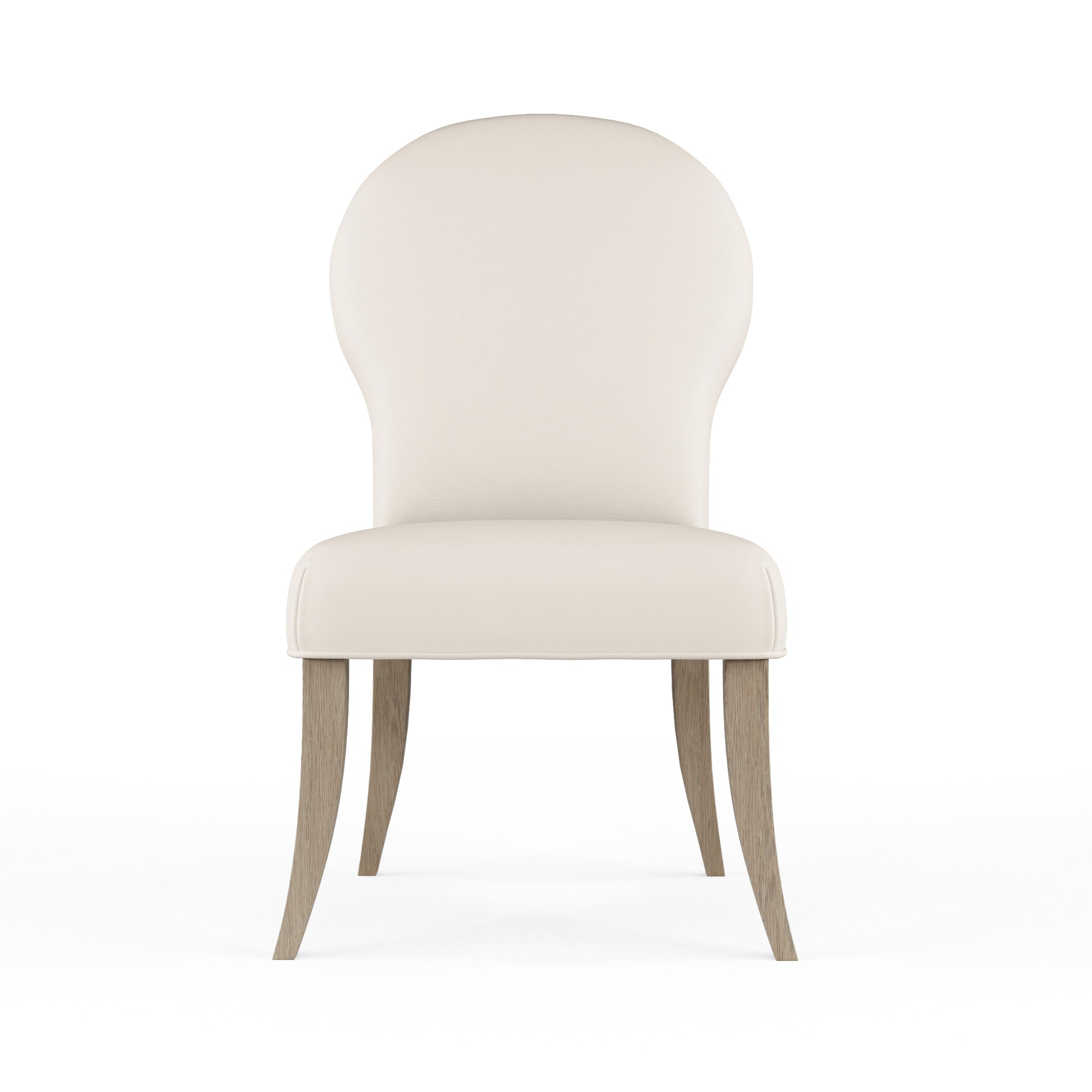 Caitlyn Dining Chair - Alabaster Plush Velvet