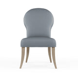 Caitlyn Dining Chair - Haze Plush Velvet