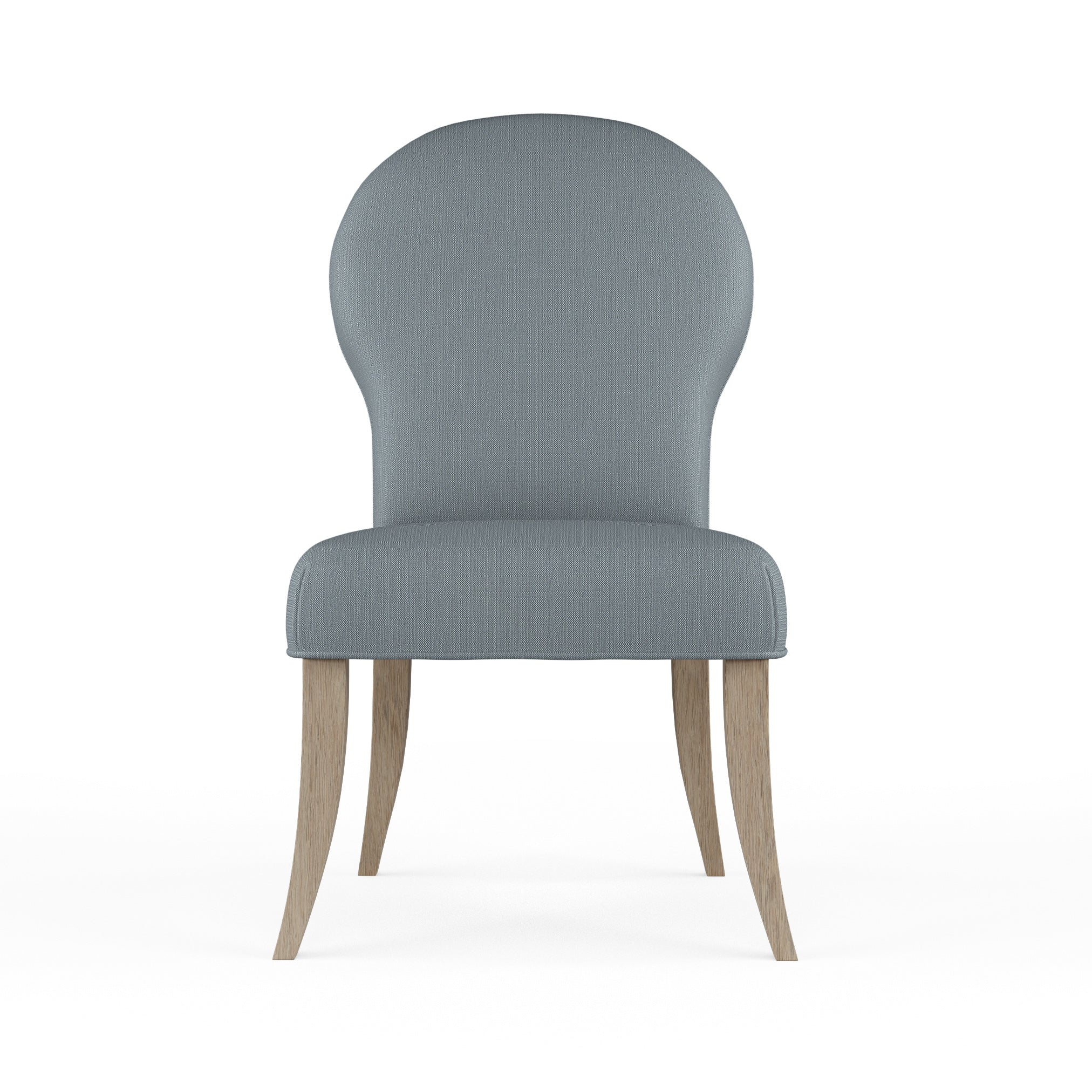 Caitlyn Dining Chair - Haze Box Weave Linen