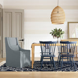 Serena Dining Chair - Haze Box Weave Linen