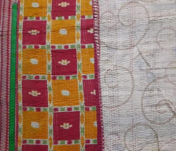 Jamdani Kantha Blanket (single)