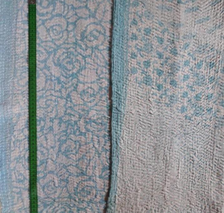 Jasmine bloom Kantha Blanket (single)