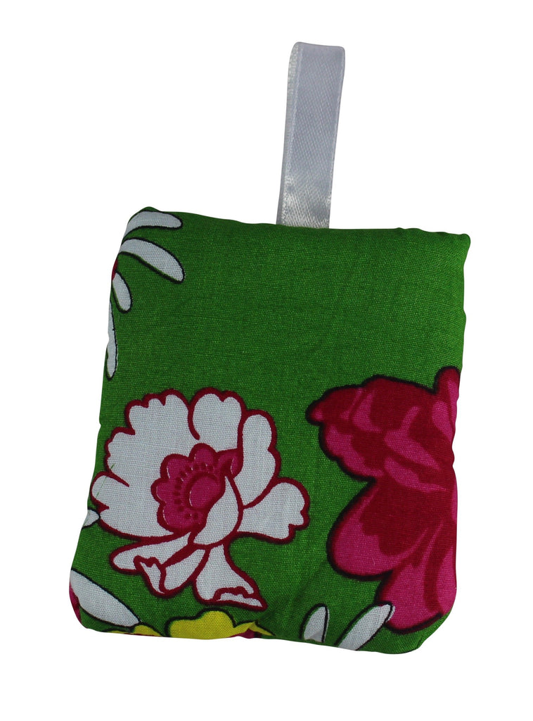 Arabian Flowers Green Really Tiny Secret Pillow