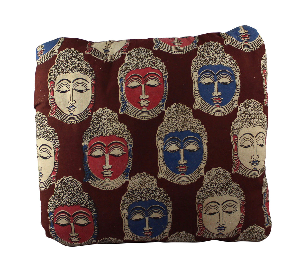 Buddha Secret Pillow in Claret