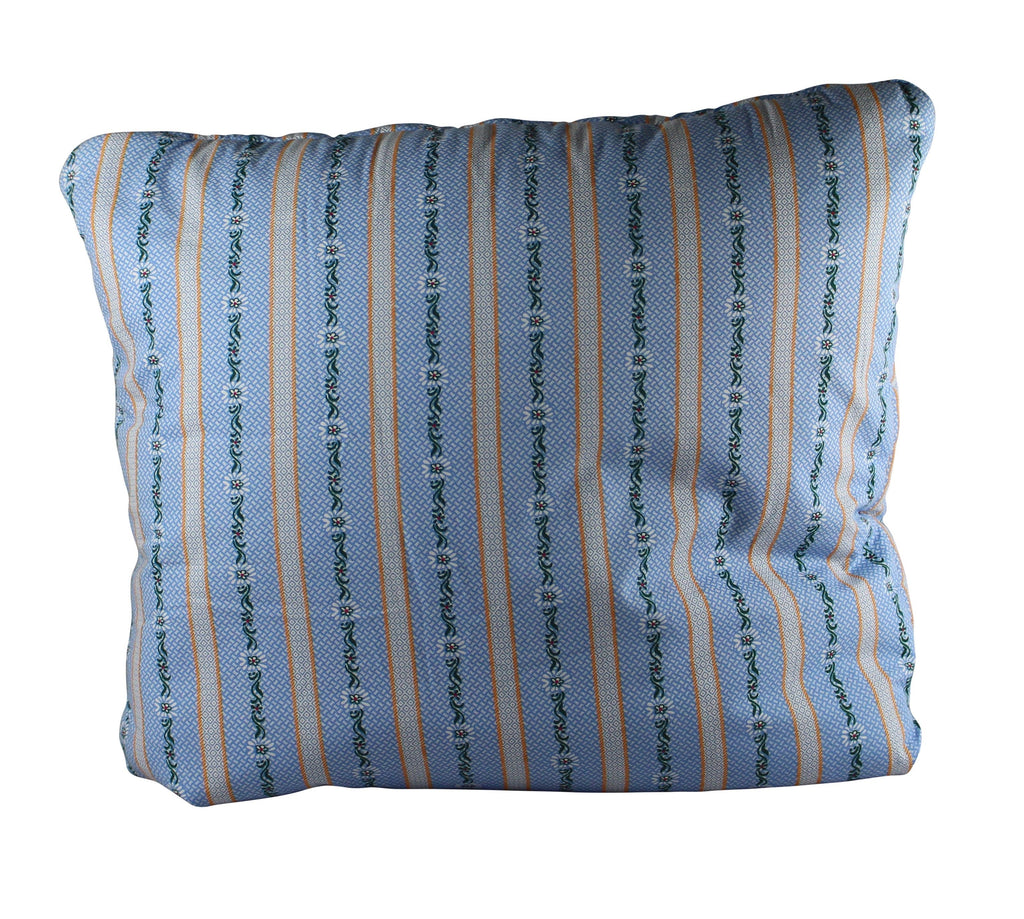 Unfolded daisy chain secret pillow