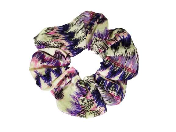 Secret Scrunchie Large-Sunset Heartbeat