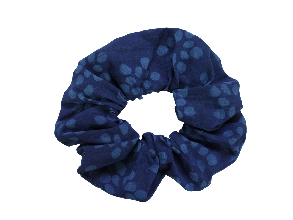 Secret Scrunchie Large-Water Drops