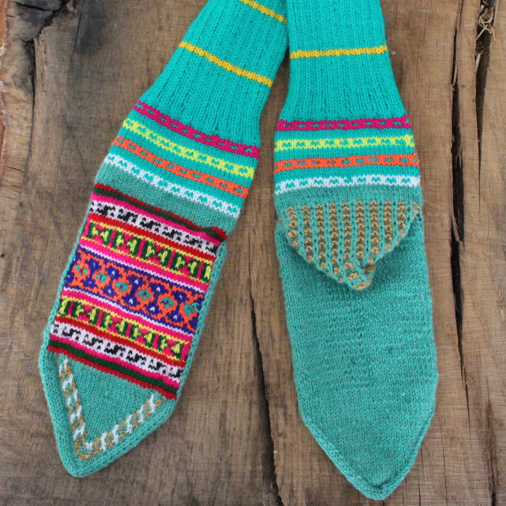 Mystical Dimples LARGE Secret Spiti Socks