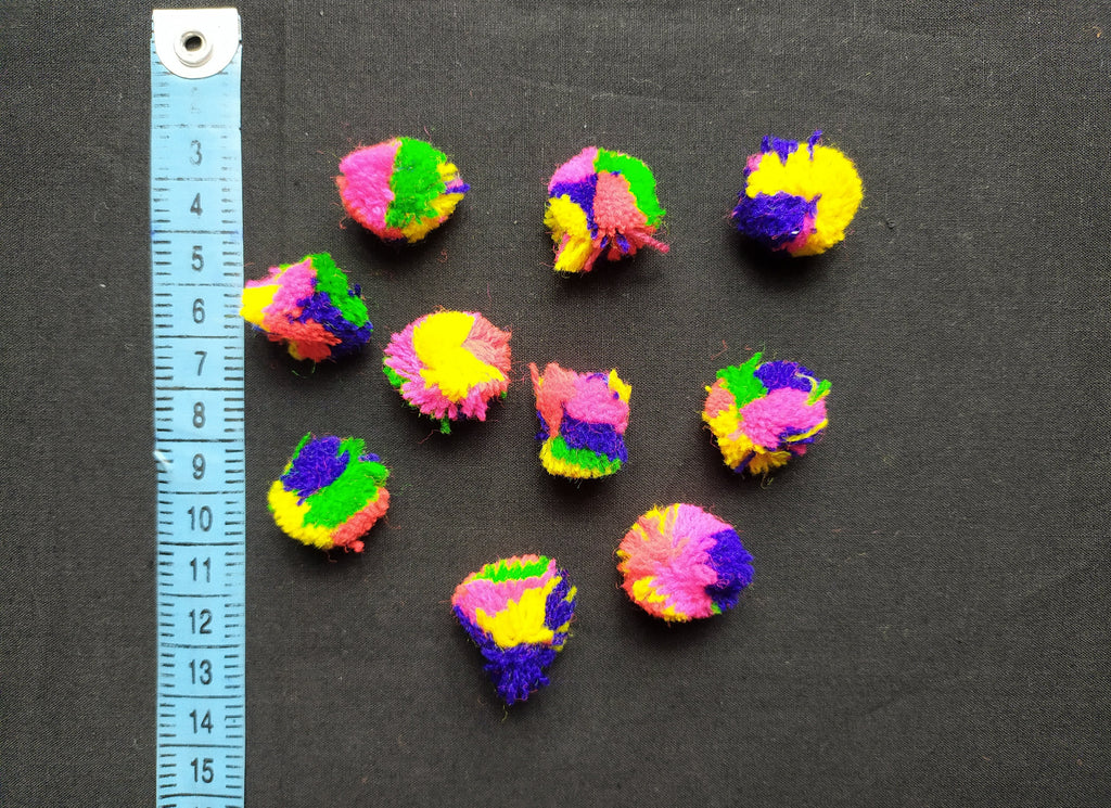 Multi Color Small Pom Pom