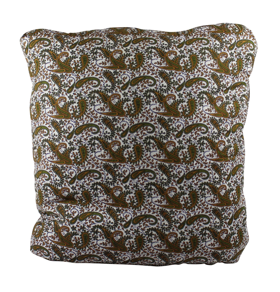 Wooden Paisley Secret Pillow