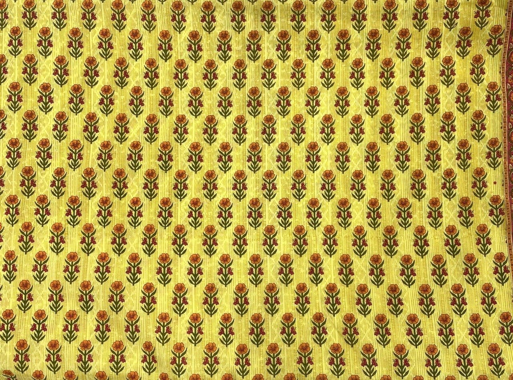 Fabric by the Meter - Aster Yellow