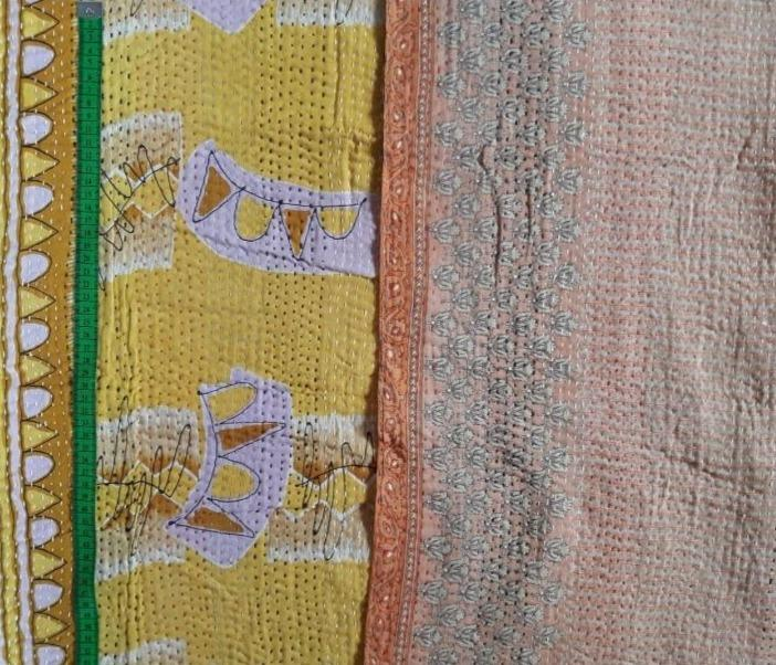 Birthday party Kantha Blanket (single)