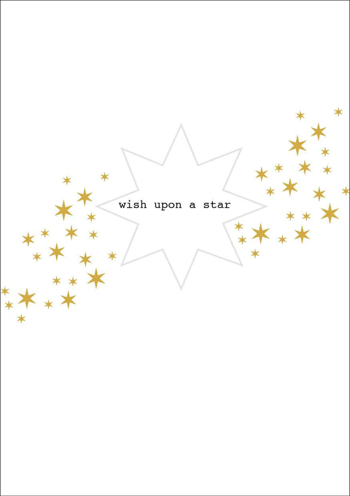 Wish Upon a Star Christmas Card and Donation Towards our Training for Empowerment Programme