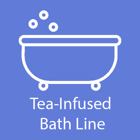 Tea-Infused Bath Line