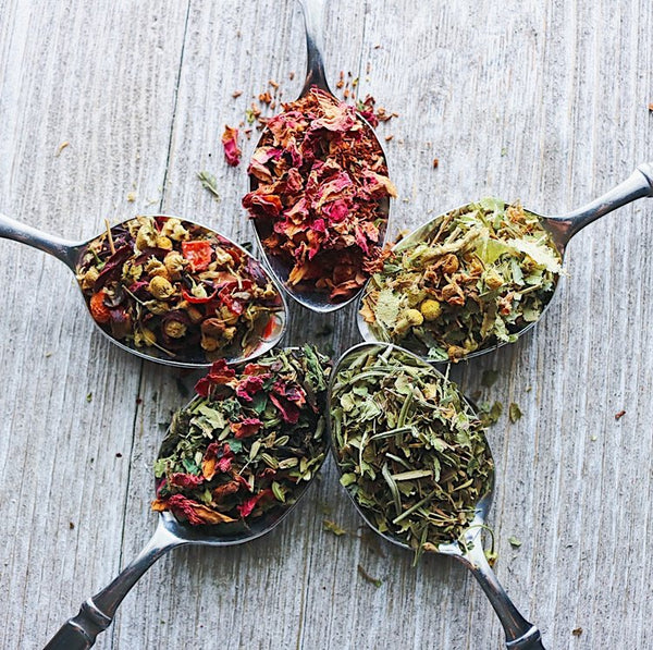 Pick three 1/2 oz artisan loose leaf teas