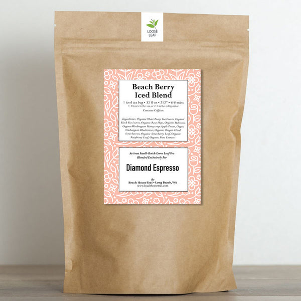 Diamond Espresso's Beach Berry Iced Blend