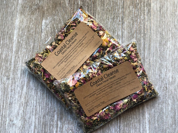 Coastal Cleanse Herbal Teatox-Detox Facial Steam