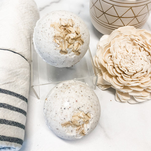 Beach Getaway Tea-Infused Bath Bomb