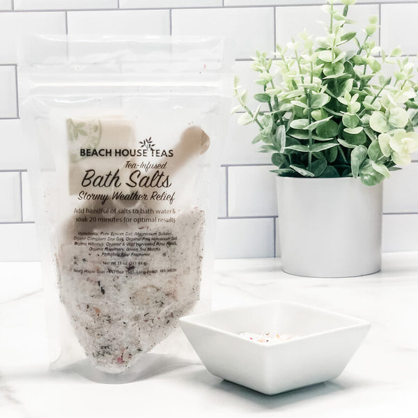 Stormy Weather Tea-Infused Bath Salts