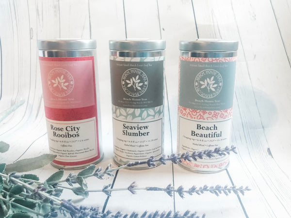 Pick three 2 oz TINS of artisan loose leaf teas