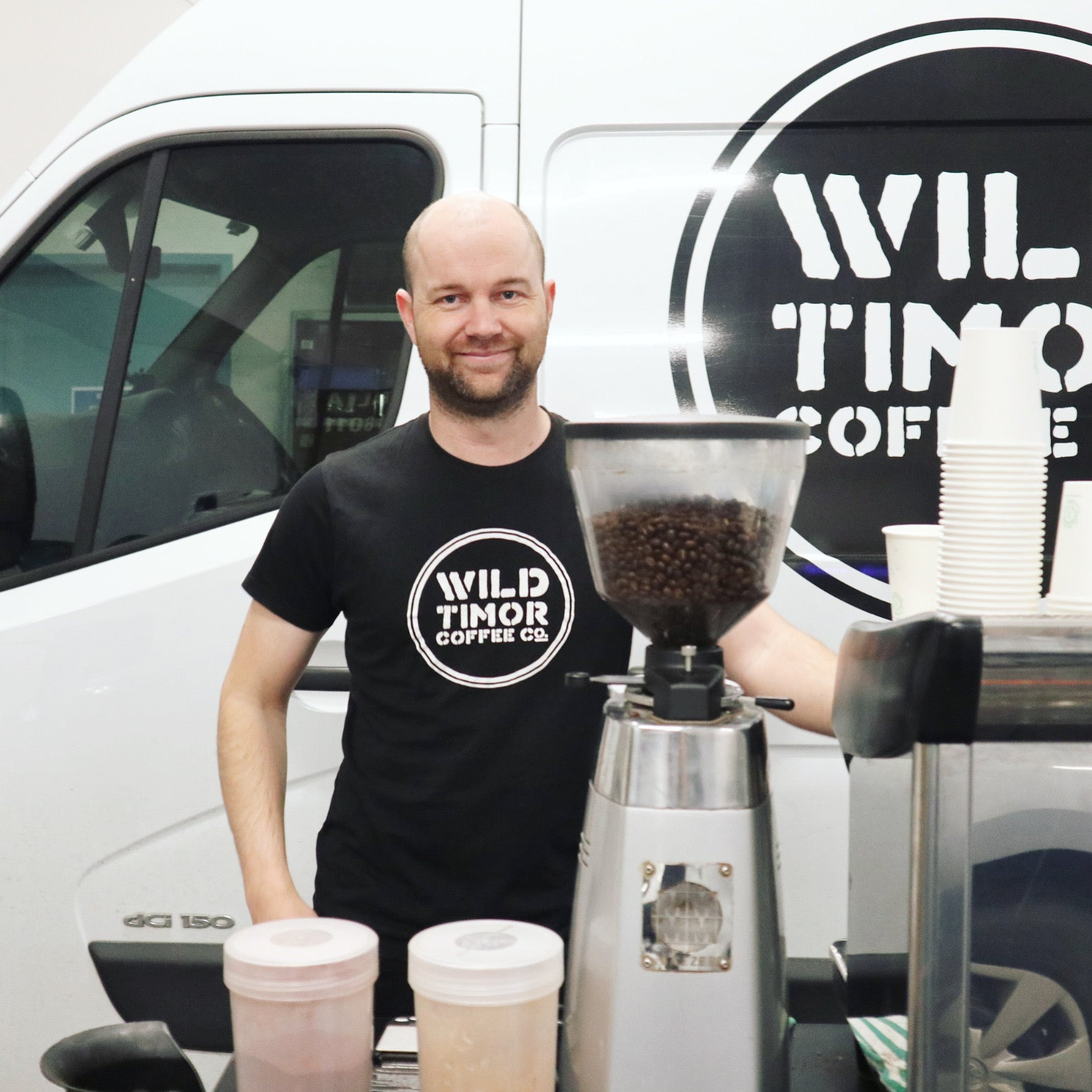 Wild Timor Coffee Director Cameron Wheelehen