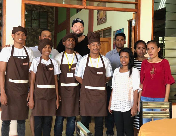 Timor Dili students sponsor fairtrade direct trade
