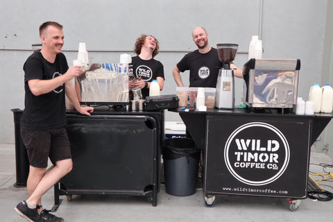 Wild Timor Coffee Veterans Tom Cameron Josh