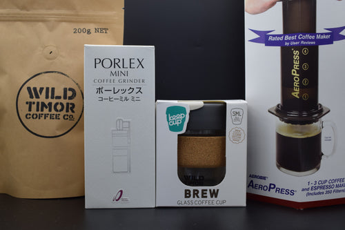 On The Go Brew Hamper - Wild Timor Coffee Co.