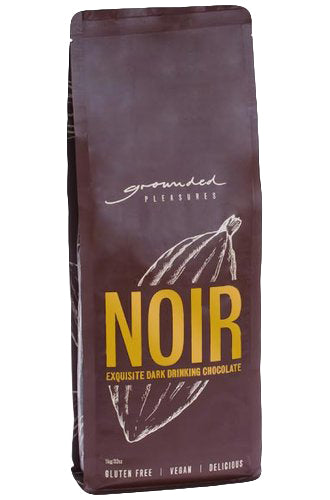 Noir Drinking Chocolate by Grounded Pleasures 1kg - Wild Timor Coffee Co.