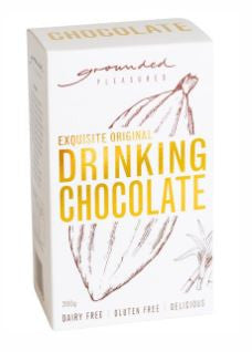 Exquisite Drinking Chocolate by Grounded Pleasures 200g or 1kg