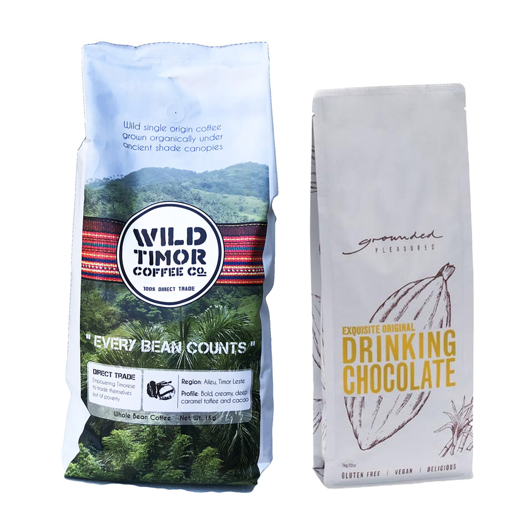 Wild Timor Coffee + Chocolate Pack