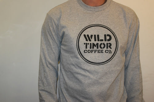 Wild Timor Coffee Long Sleeve T-Shirt - Wild Timor Coffee Co.