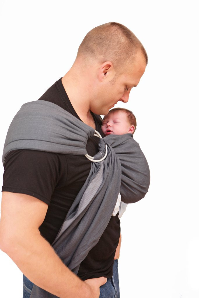 Maya Wrap Graphite Lightly Padded Ring Sling