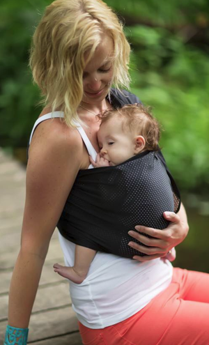 Black Mesh Water Ring Sling