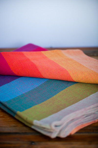 Earthy Rainbow Ring Sling