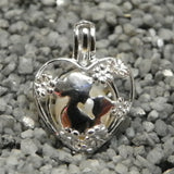"Mom ""Nose"" Best Pearl Cage - Sterling Silver #158"