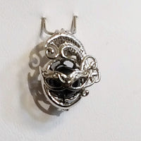 Mask Pearl Cage - Sterling Silver #051
